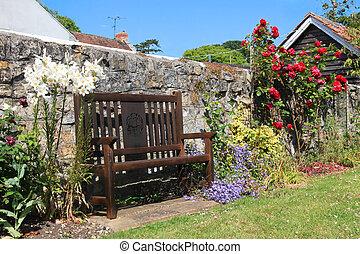 Country Garden Seat
