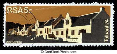 Country Guest House in Dutch Quarters of Tulbagh , Republic...