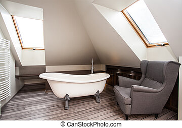 Country home - bathroom interior