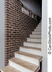 Country home - stylish stairs
