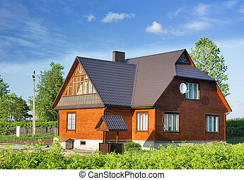 country house, cottage