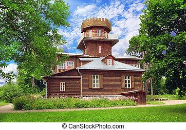 Country house of Russian artist Repin near Vitebsk