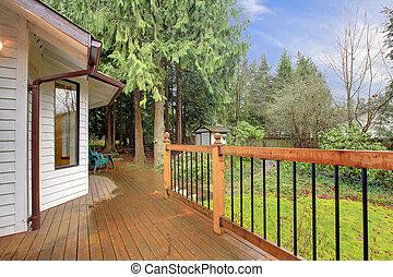 Country house porch idea