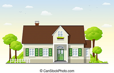 Country House Stock Illustrationsby
