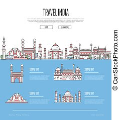 Country India travel vacation guide