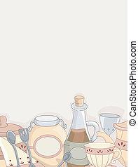 Country Kitchen Design Background 2
