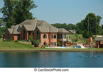 Country Mansion - Luxury home in the country with a swimming...