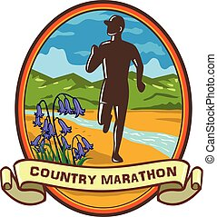 country-marathon-runner-frnt-bluebel, ls-oval-txt