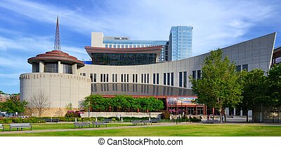 Country Music Hall of Fame - NASHVILLE - JUNE 14: Country...