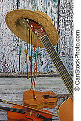 country-music, instrumente