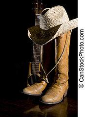 country-music, scheinwerfer