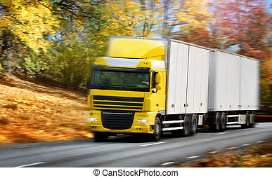 country-road/motion, conduite camion