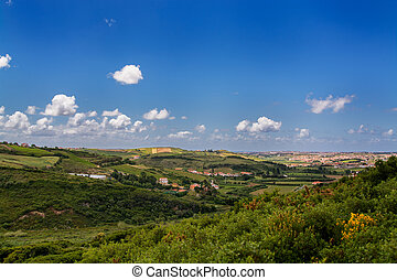 country side in Torres Vedras Portugal.