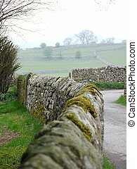 Country Stone Wall