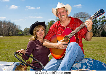 Country Western Couple