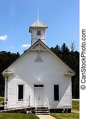 Country White church