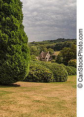 Countryside around Scotney Castle