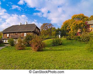 countryside at autumn, Poland