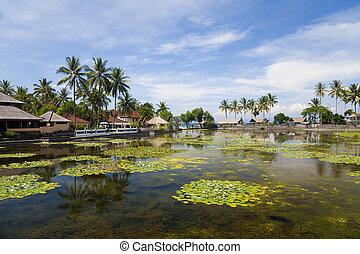 Countryside at Candidasa, Bali, Indonesia - Image of...