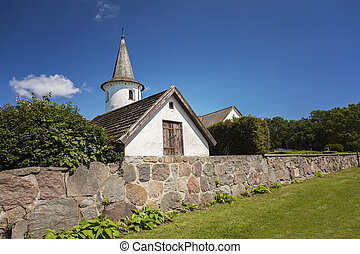 Countryside church in Sweden