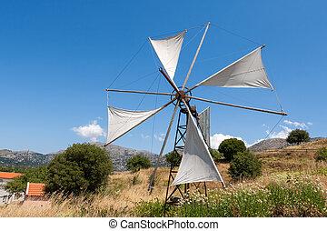 Countryside. Crete, Greece