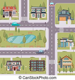 Countryside Flat Template