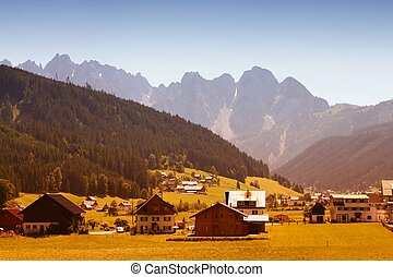 Countryside in Austria