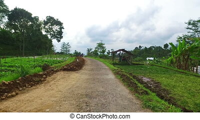 Countryside on Java Indonesia