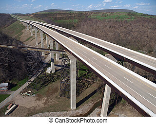 County Interstate Bridges - Brand new freeway bridges...