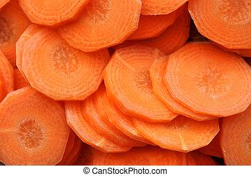 coupé, carotte