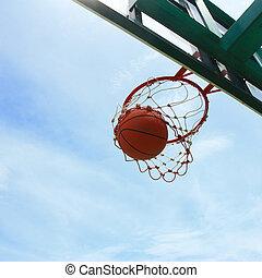 coup, basket-ball