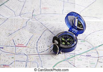 coup, compas