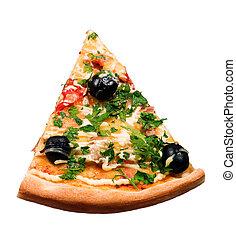 couper, pizza