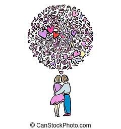 couple, aimer