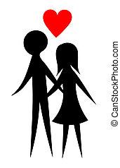 couple, amants