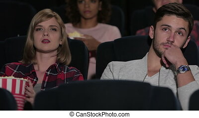 It seems to be a sad movie