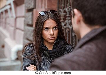 couple, argument, avoir