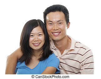 couple, asiatique