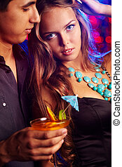 Couple at club