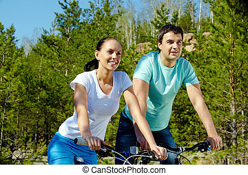 Couple at leisure