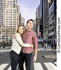 couple, avenue, cinquième