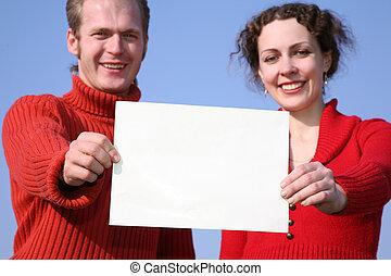 couple, carte