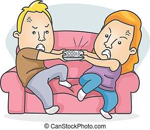 Couple Channel Argument