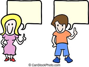 Couple child - Creative design of couple child