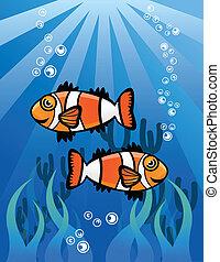 Couple ClowFish