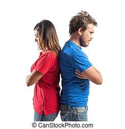 couple, combat