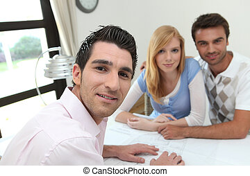 couple, consultation