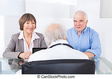 Couple Consulting Doctor