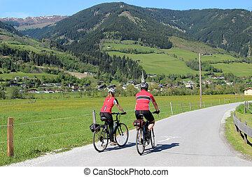 couple, cyclisme