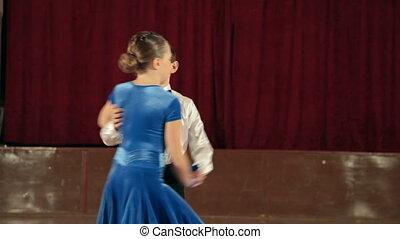 Couple Dancing jive